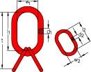 Aufhängegarnitur DIN 5688-3 ohne Abflachung