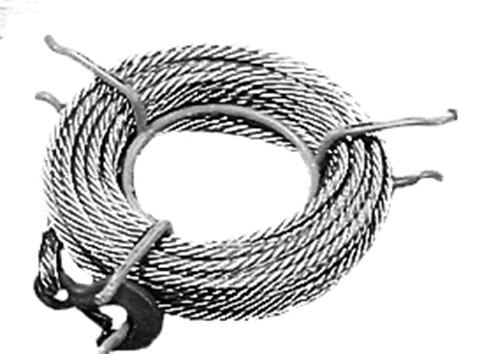 Seil mit Haken / Spitze